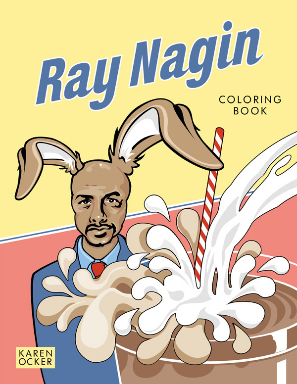 Front Cover | Ray Nagin Coloring Book